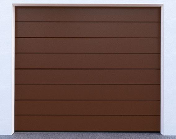 Sekční garážová vrata řady DIY, model 8014