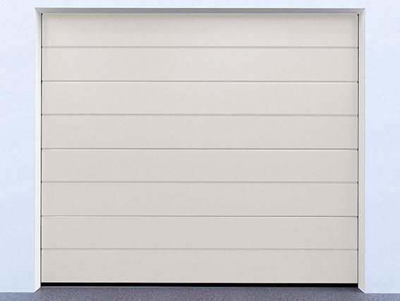 Sekční garážová vrata řady DIY, model 9010