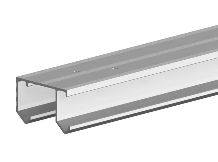 Samostatná hliníková vodicí lišta k systému Horus 6000 mm