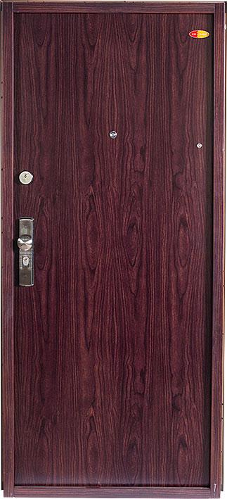 Bezpečnostní dveře RC2 80x197cm Trend plus Elegante, model Tmavý