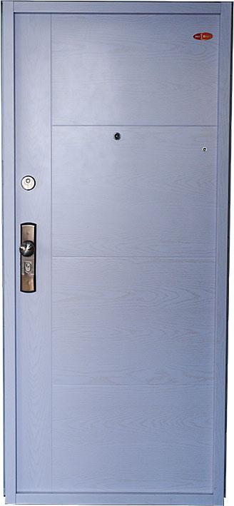 Bezpečnostní dveře RC2 80x197cm Trend plus, model bilá struktura