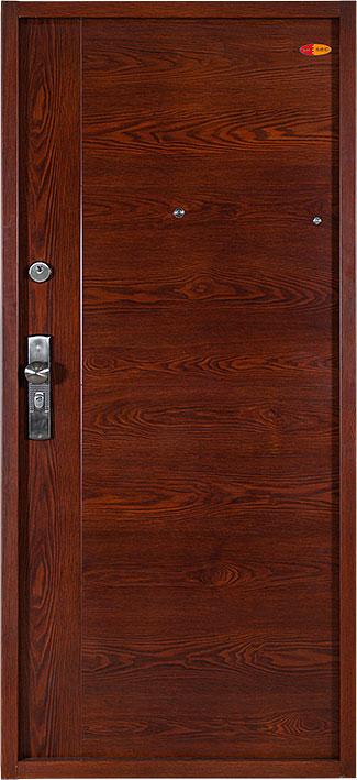 Bezpečnostní dveře RC2 80x197cm Trend plus, model ořech