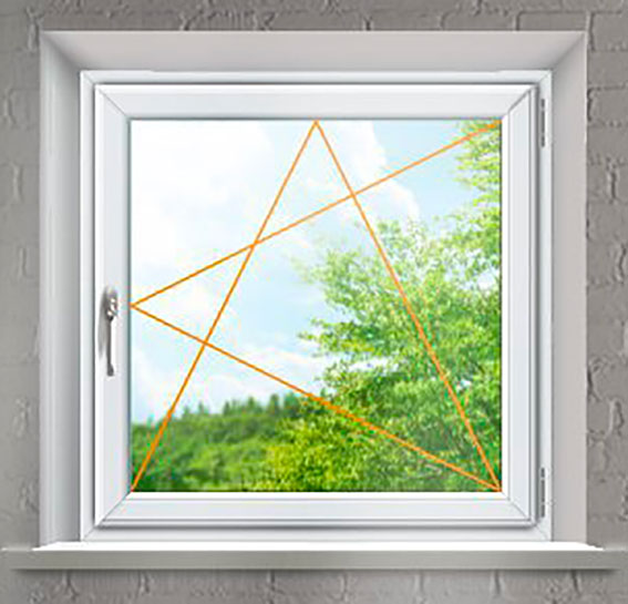 Plastové okno Rako, jednokřídlé bílé
