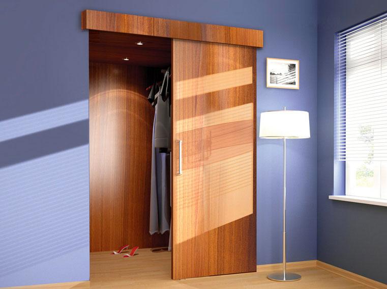Sada SATURN pro jednoduchou výrobu posuvných dveří