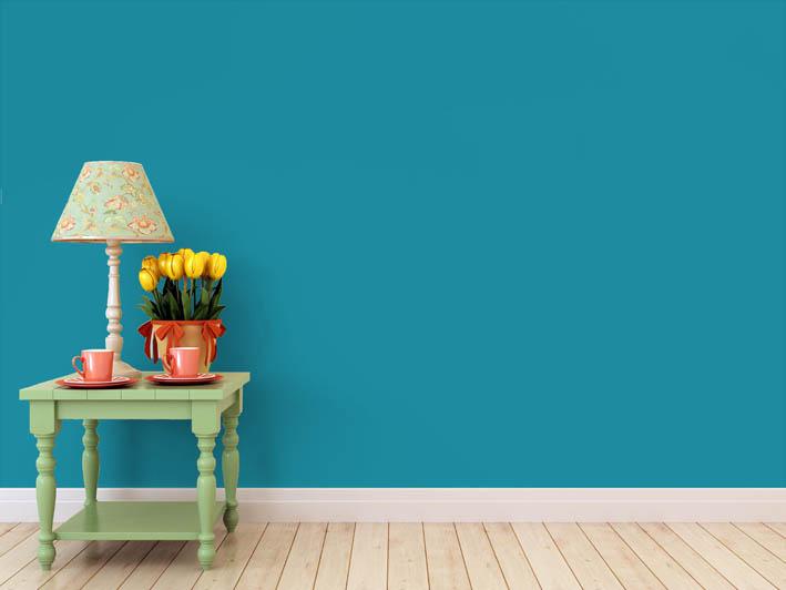 Interiérová barva odstín BLU 10