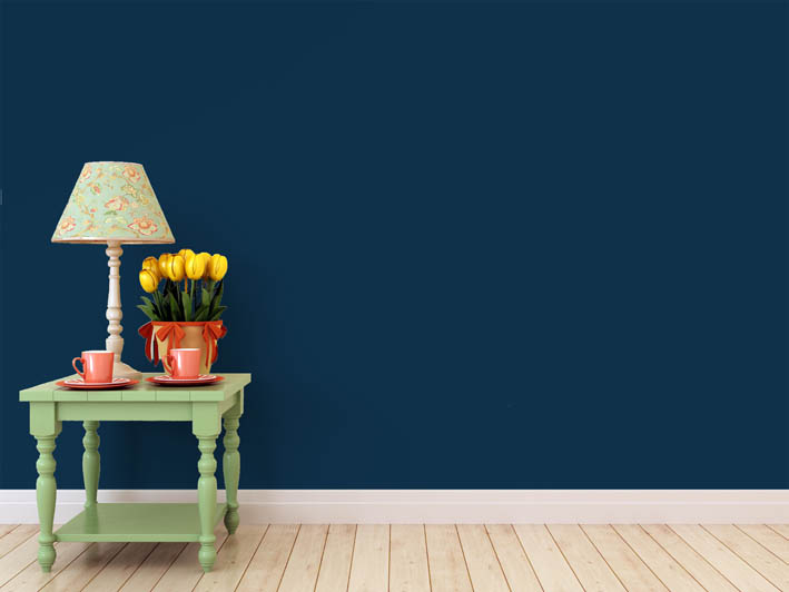 Interiérová barva odstín BLU 15