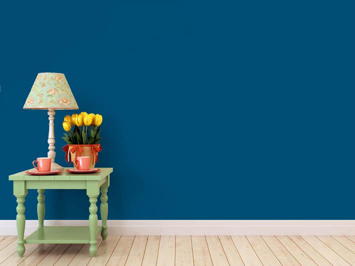 Interiérová barva odstín BLU 20