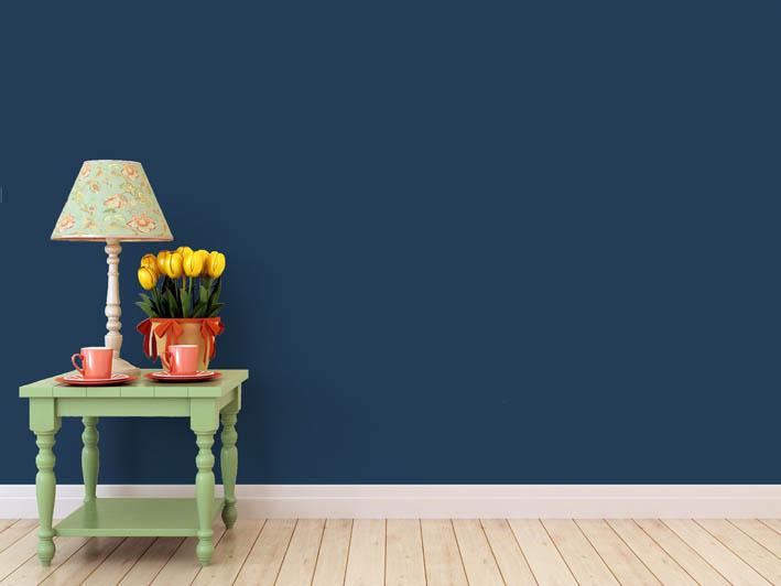 Interiérová barva odstín BLU 25