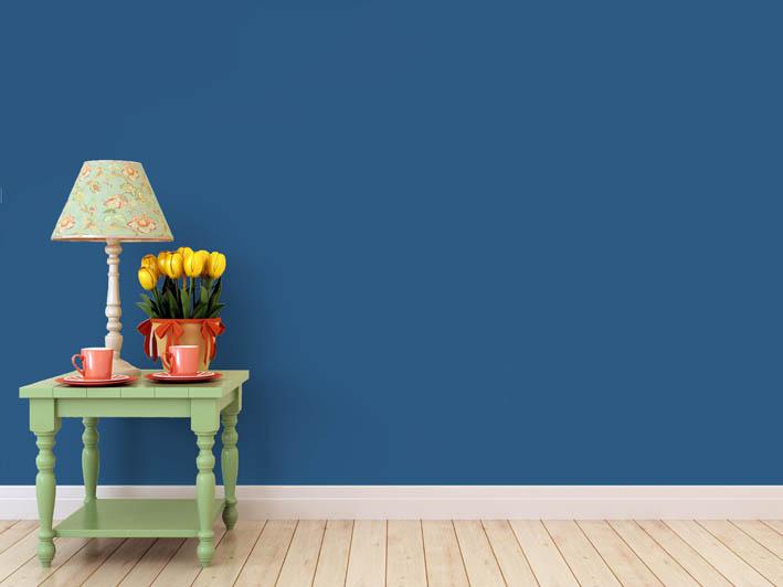 Interiérová barva odstín BLU 30