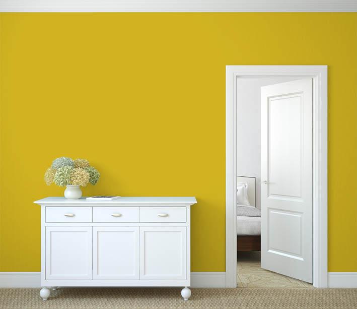 Interiérová barva odstín CURRY 125