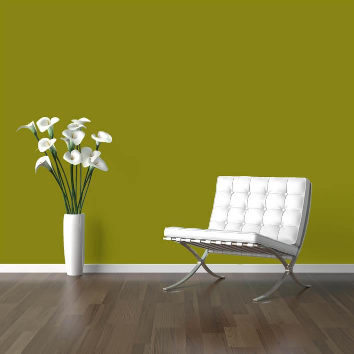 Interiérová barva odstín OLIV 25
