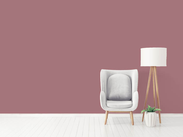 Interiérová barva odstín ROSE 75