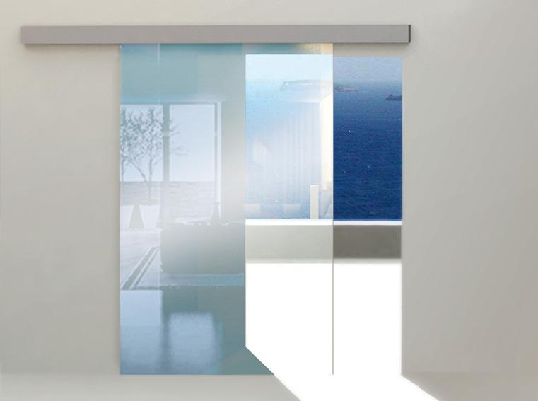 Systém pro posuvné celoskleněné dveře HERKULES GLASS
