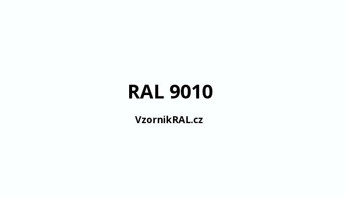 bílé RAL 9010 akrylátový lak vytvrzený EBC technologií