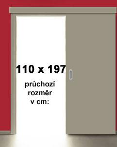 110x197 cm