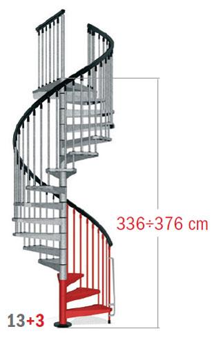 336 - 376 cm