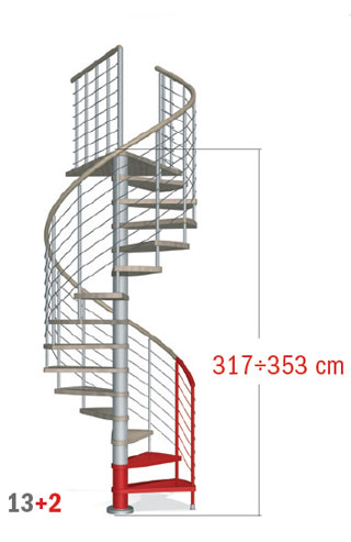 317 - 353 cm
