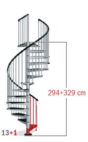 294 - 329 cm