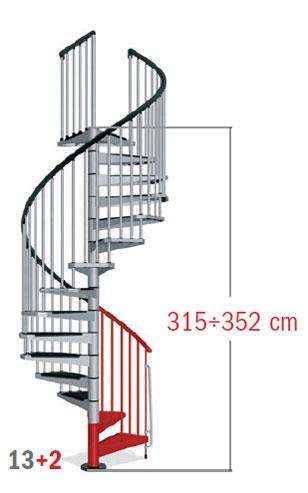 315 - 352 cm