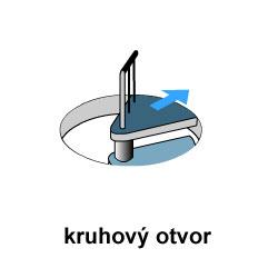 kruhový otvor