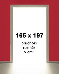 165x197cm