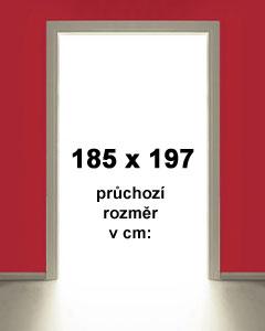 185x197cm