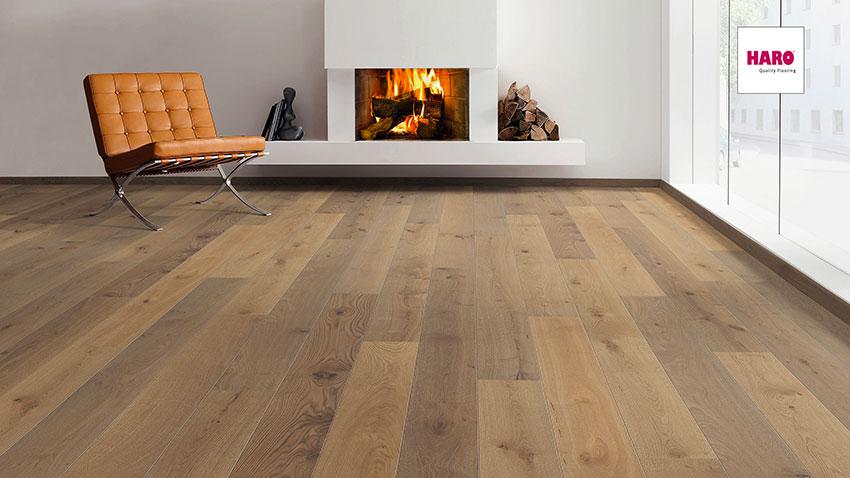Třívrstvá dřevěná podlaha Haro Exclusive Apollon