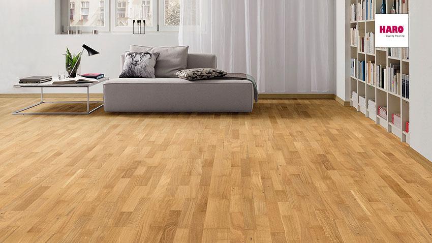 Třívrstvá dřevěná podlaha Haro Exclusive Gaia