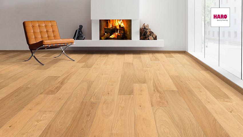 Třívrstvá dřevěná podlaha Haro Exclusive Hermes