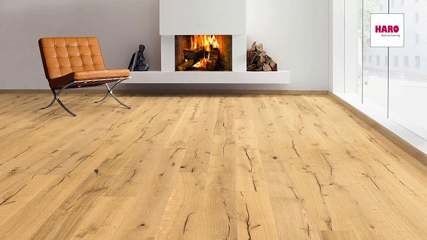 Třívrstvá dřevěná podlaha Haro Exclusive Iris