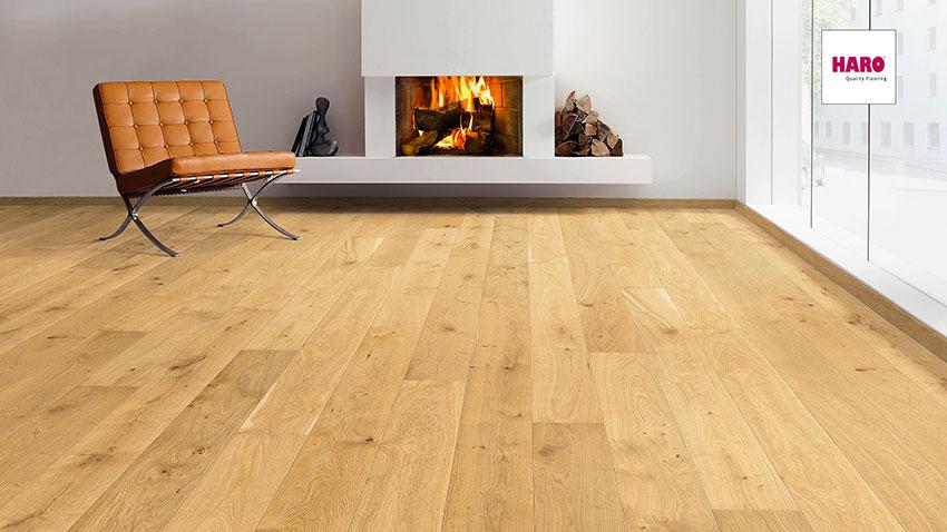 Třívrstvá dřevěná podlaha Haro Exclusive Triton