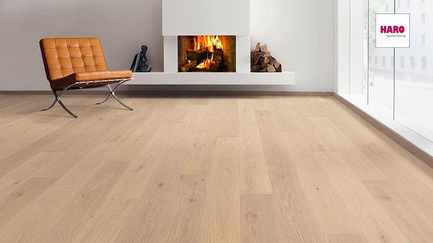 Třívrstvá dřevěná podlaha Haro Exclusive Zeus
