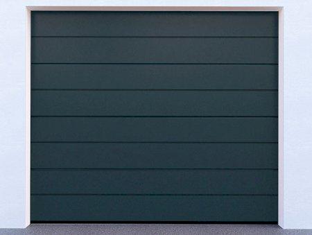 Sekční garážová vrata řady DIY, model 7016